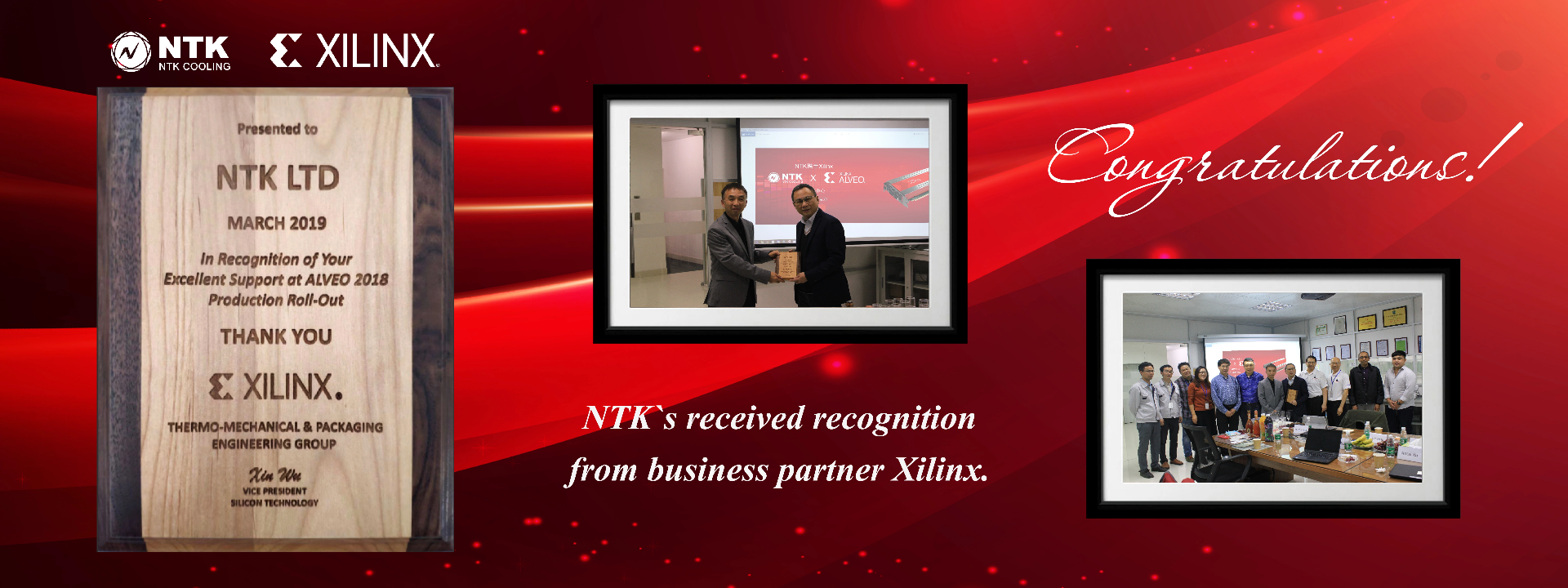 Xilinx recognition